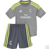 Kit Junior Real Madrid Exterieur 2015/16