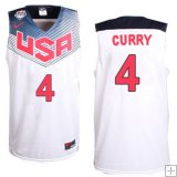Stephen Curry, USA 2014 - Blanc