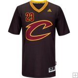 LeBron James, Cleveland Cavaliers - Black Sleeve Swingman