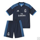 Kit Junior Real Madrid Third 2015/2016