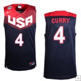 Stephen Curry, USA 2014 - Bleu