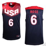 Derrick Rose, USA 2014 - Bleu