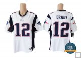Tom Brady, New England Patriots - White