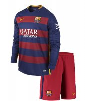 Kit FC Barcelona Home Junior 2015/16 ML