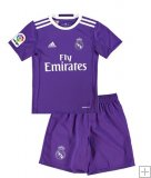 Kit Junior Real Madrid Exterieur 2016/17