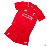Kit Junior Liverpool Domicile 2015/2016