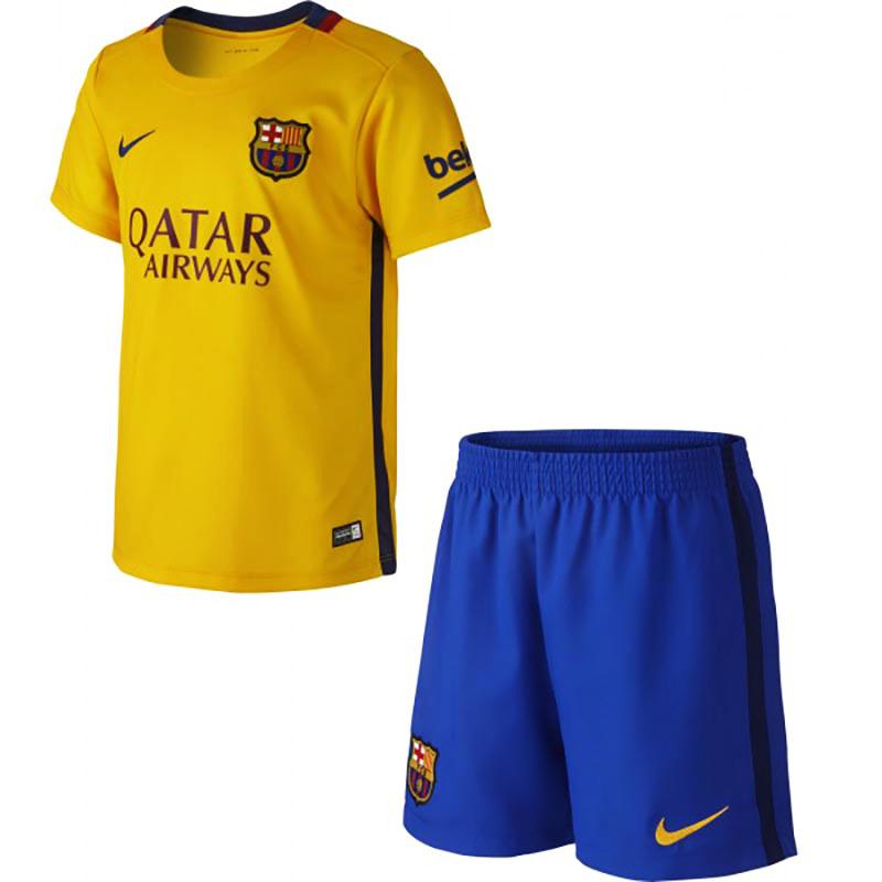 short fc barcelone exterieur 2015 2016 junior clubs etrangers