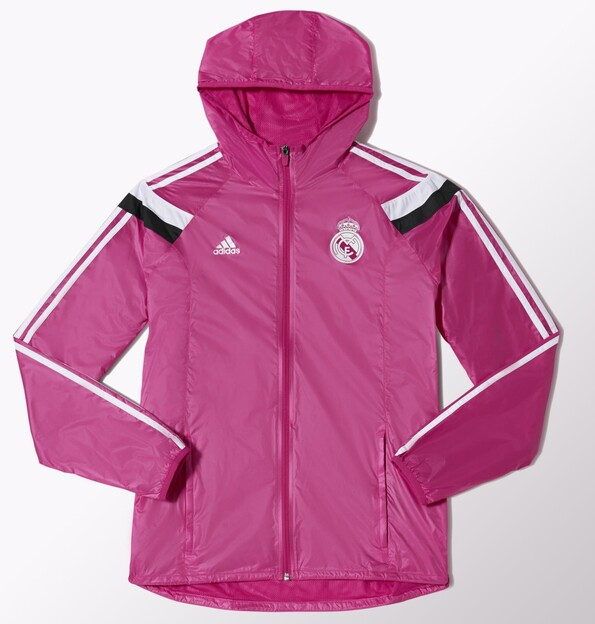 Veste Real Madrid Anthem 2014/15 - Rose